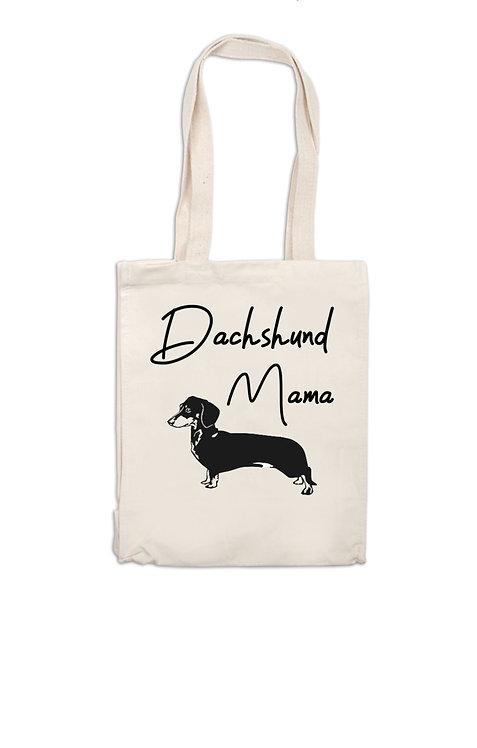 Dachshund personalised Canvas Bag, dog owner gift, personalised