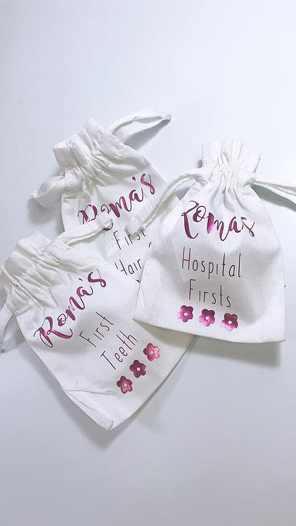 Baby Memory Keepsake Bag