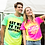 Tie-dye shirt, Adult Unisex, Personalised (TD02M ) PERSONALISED FESTIVAL T-SHIRT, RIVA GIFTS