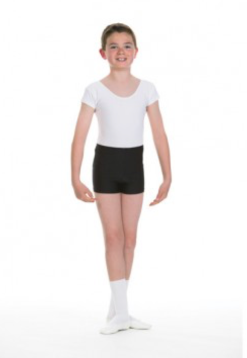 1st Position Boys Ballet Shorts (Matt)  Q41
