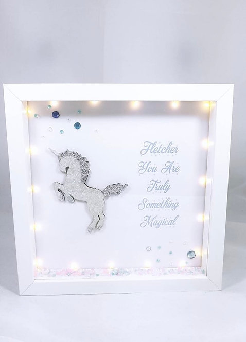 Unicorn, Personalised Frame, Nursery Decor
