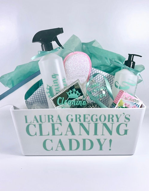 Zoflora Cleaning Hamper, Filled Personalised Gift, Mint