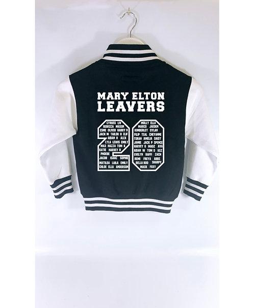 2020 Leavers Varsity Jacket 2020, Mary Elton
