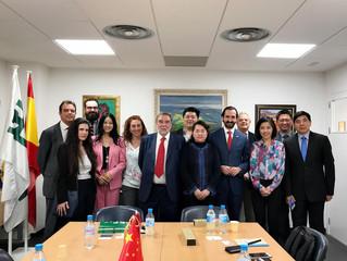 Encuentro con miembros del Consejo de Estado de China