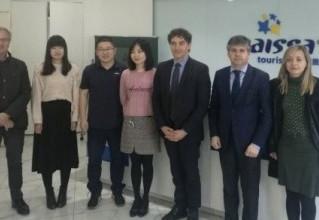 Delegación de la Agencia Valenciana del Turismo a Pekín en colaboración con Cátedra China