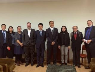 Reunión de trabajo de Cátedra China con miembros de UCASS