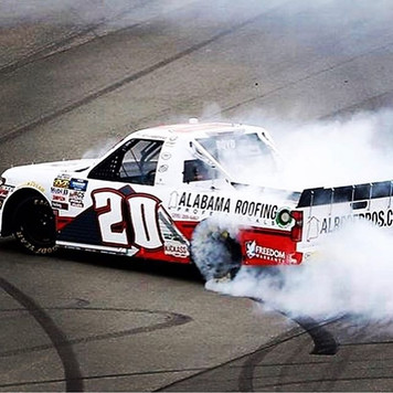 When you win your first ever NASCAR race