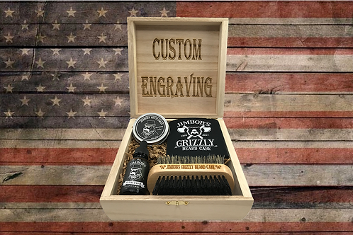 Jimbob's Gentleman Beard Bundle (Leather/Musk)