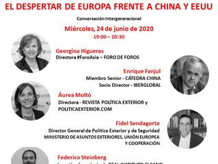 """FORO - Conversación Intergeneracional """"El despertar de Europa frente a China y EE. UU."""""""
