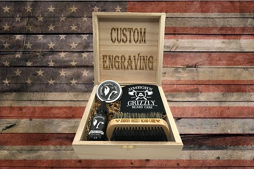 Original Grizz Beard Bundle (Cedar/Pine)