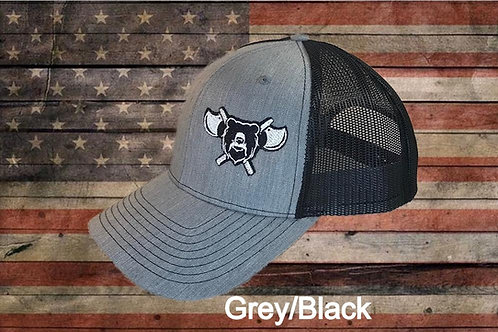 The GRIZZLY MARK TRUCKER HAT
