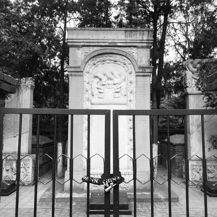 Un cementerio de cosmonautas