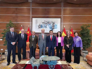 Primera reunión del Comité Ejecutivo con el Señor Consejero de la Embajada de China