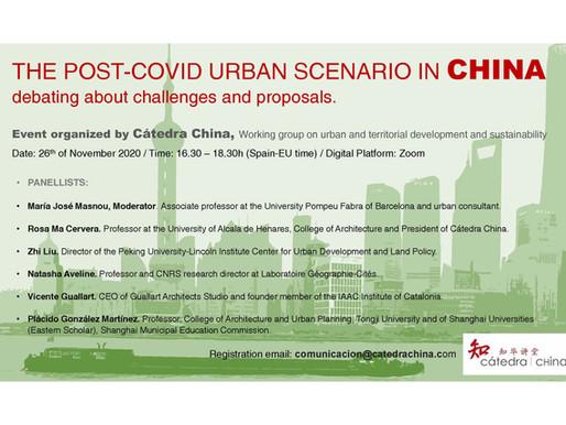 """MESA REDONDA """"El escenario urbano Post-COVID en China, debatiendo retos y propuestas"""""""