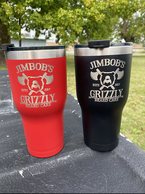 RTIC 30 oz Tumbler- Grizzly Mark