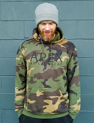 The Camo Trooper Hoodie - Black