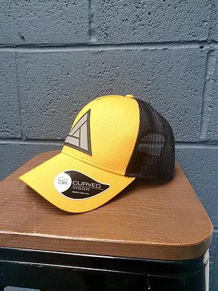 The Certamen Snapback Cap - Yellow & Black