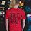 Thumbnail: Fyrd Print Tee - Red & Black