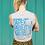 Thumbnail: Tanked Fyrd Print Tee - Heather Grey & Blue