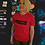 Thumbnail: Fyrd Print Tee - Red & Black