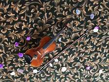 Violin on carpet Lake Windsor CC.jpg