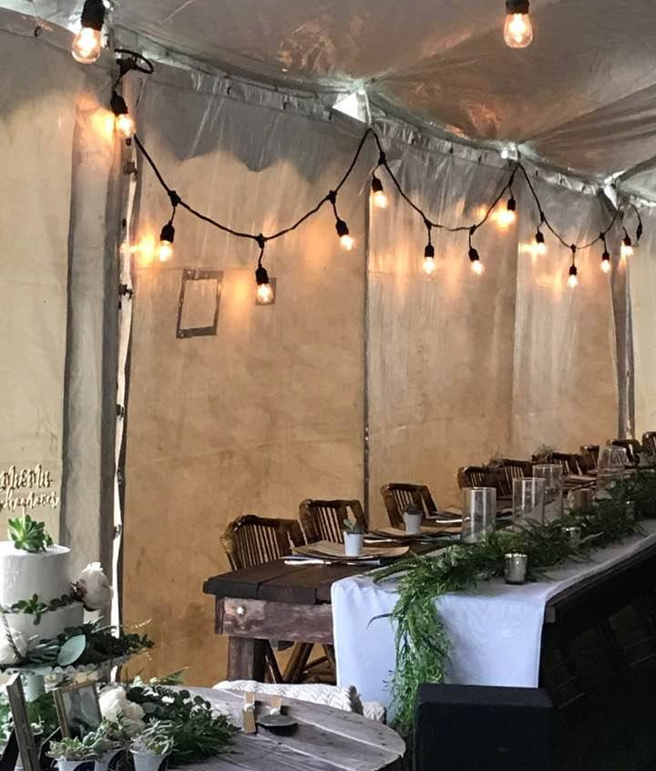 Warm and cozy under a tent 5.20.17