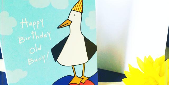 Happy Birthday Old Buoy! Card