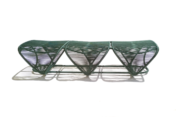 TATURANA LONG BENCH (3 SEATS)