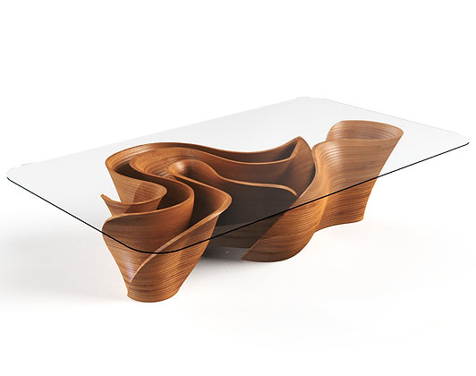 BANZEIRO TABLE IN WOOD