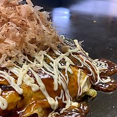 広島風お好み焼き(肉玉入り)