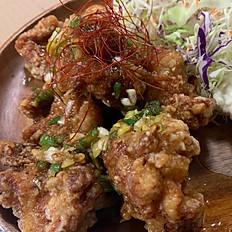 手作り唐揚げ(油淋鶏仕立て)