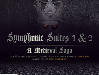 New Album Symphonic Suites 1 & 2 released in August through PARMA recordings