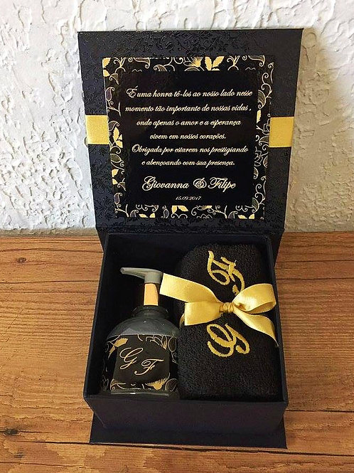 Agradecimento Casal de Padrinhos 13137 Preto