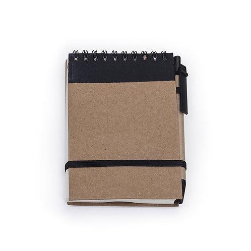 Bloco de anotações com caneta - DS12681