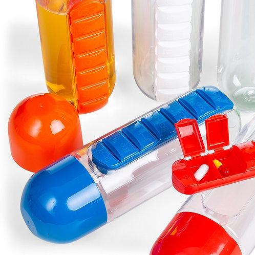 Squeeze Plástico 700ml Porta Comprimido - DS13996