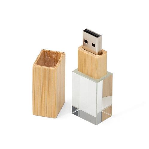 Pen Drive Cristal Bambu 4GB/8GB - DS00064-4GB / 8GB