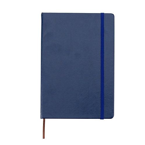 Caderneta tipo Moleskine de Couro Sintético - DS03005