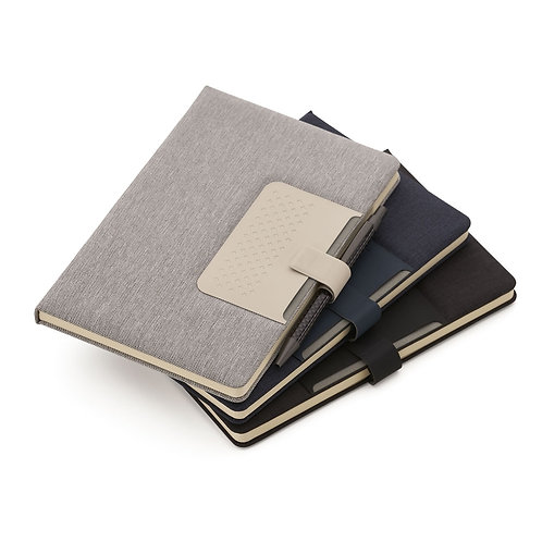 Caderno com Porta Caneta - DS14317