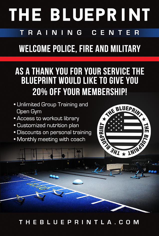 To all our police fire and military the blueprint la fitness to all our police fire and military malvernweather Images