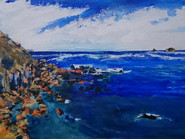 """""""Priests Cove and The Brisons"""" by Pat Wood"""
