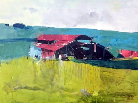 """Below Hilcombe Hanging"" by Peb Burfoot"