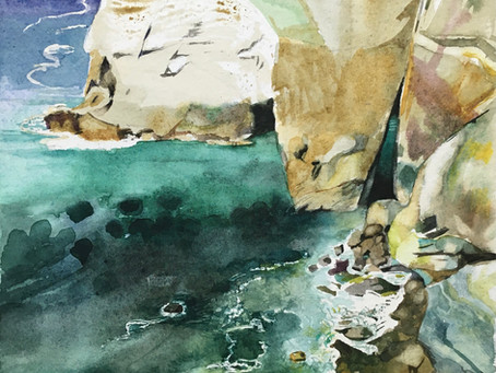 Cornwall watercolour