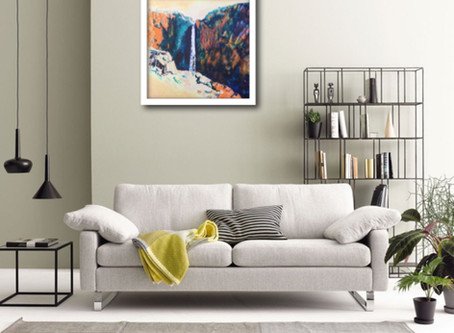 """New """"Featured Painting"""" section"""
