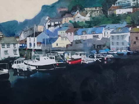 """Harbour Tide"" by Peb Burfoot"