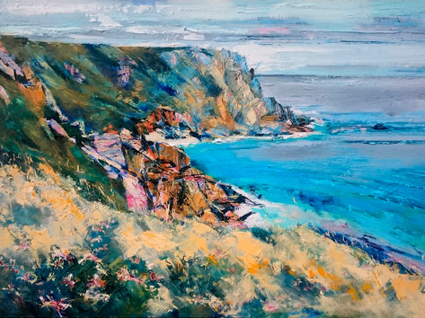 """Porthchapel"" by Pat Wood"