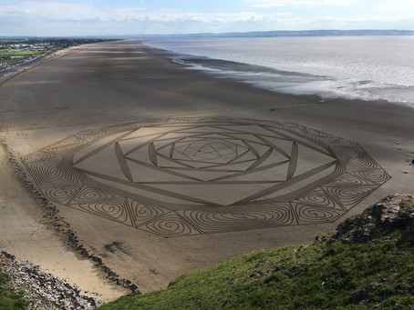 Magic unfolding at Brean Down