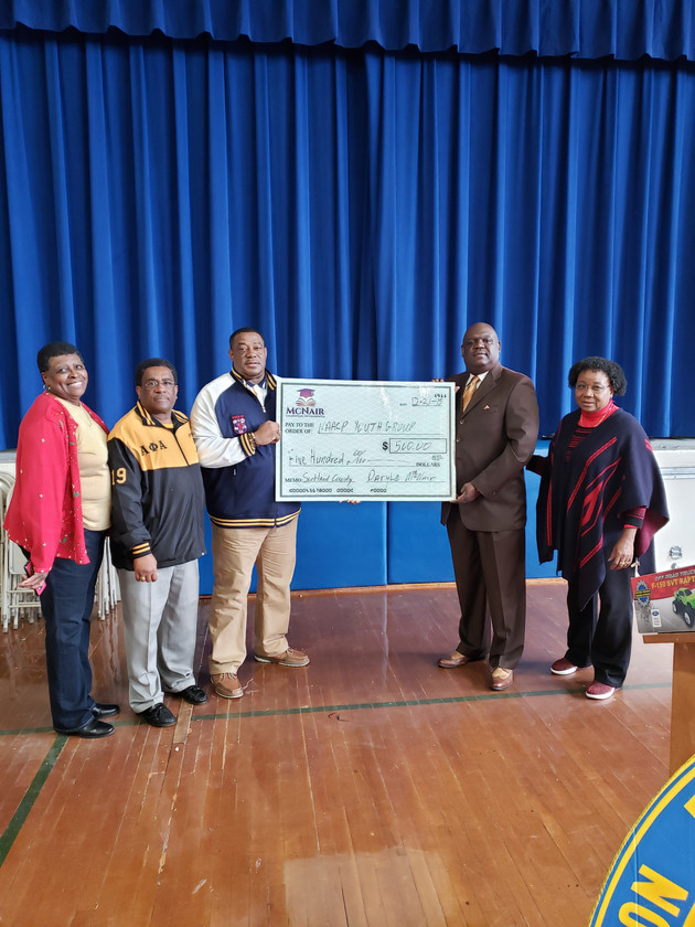 NAACP YOUTH DONATION