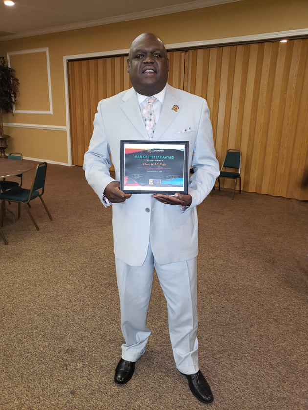 McNair Named Man of the Year