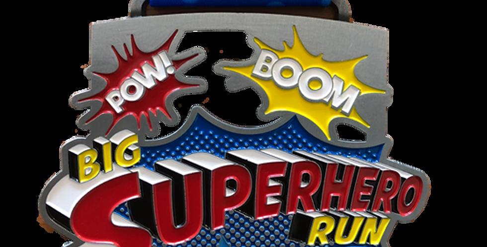 2018 Official SuperHero Run RACE KIT