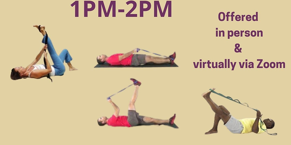 Active Isolated Stretching Workshop--In-Person Attendee